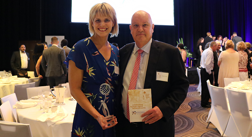 Konica Minolta receives top honour in the Australian Human Rights Commission Human Rights Awards
