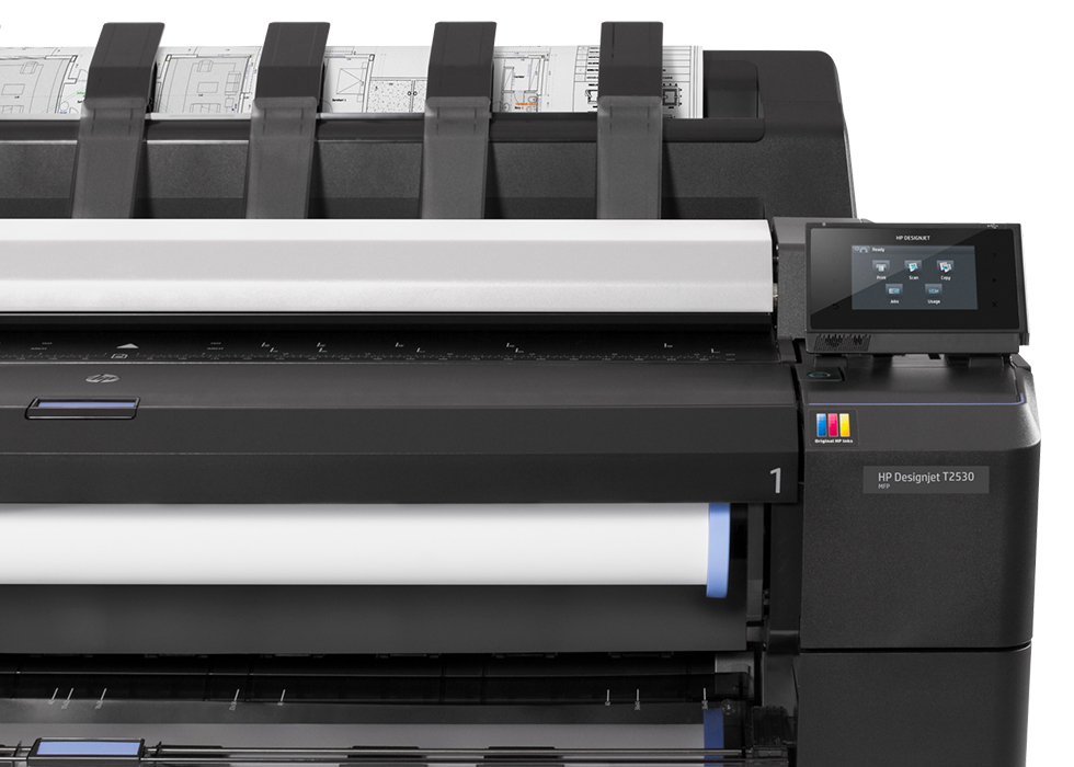 HP DesignJet T2530 Multifunction Printer product view