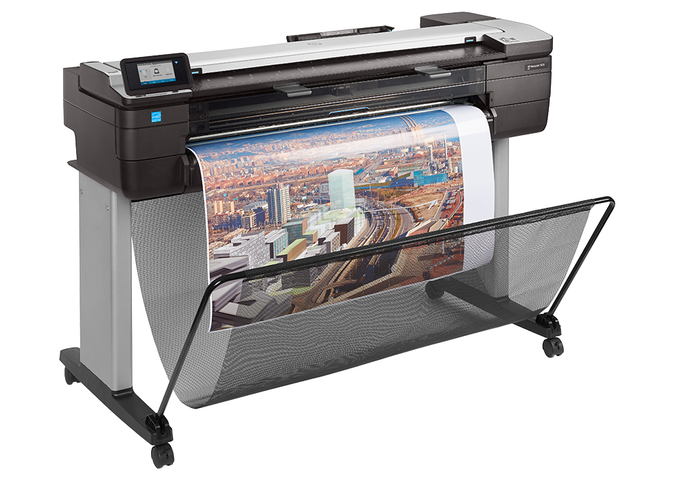 HP DesignJet T830 Multifunction Printer product view