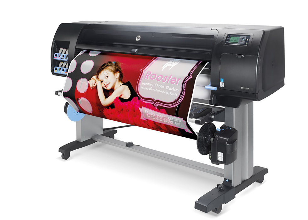 HP DesignJet Z6810 Photo Production Printer product view