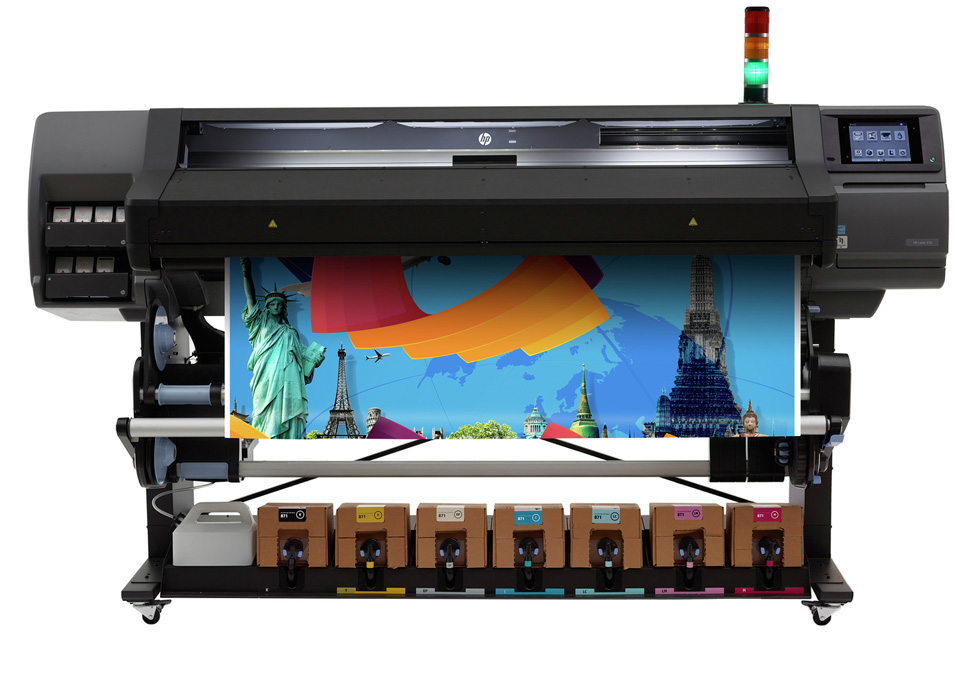 HP Latex 570 Printer front product view