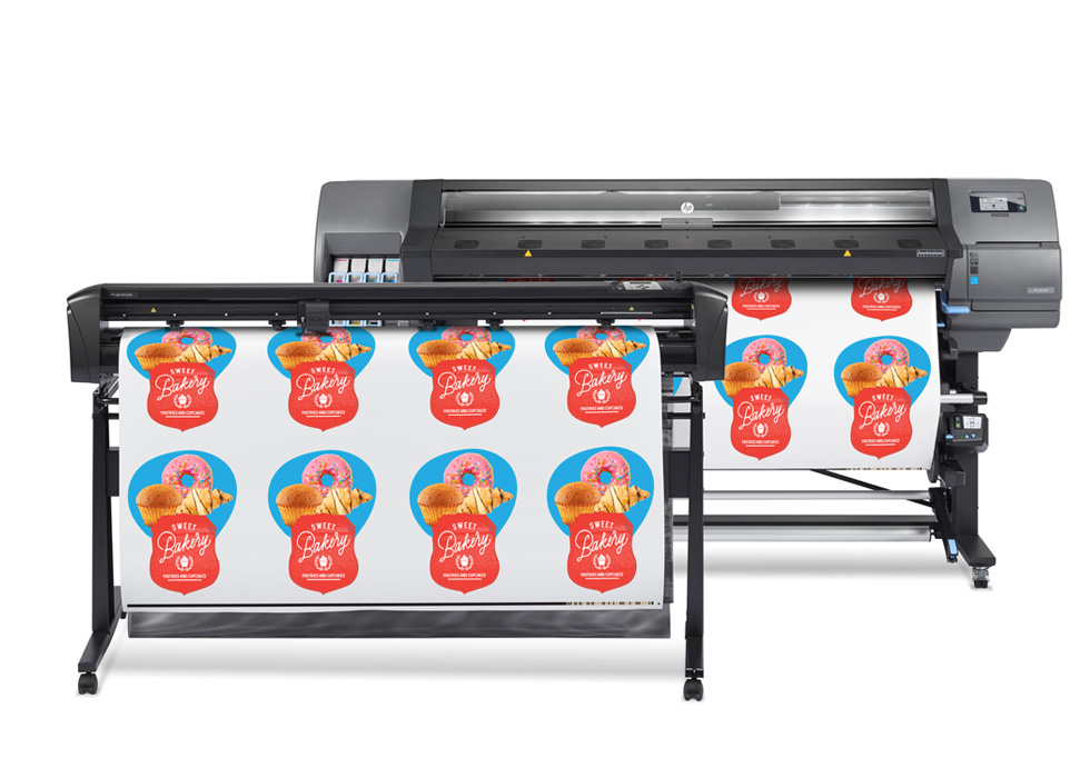 HP Latex 335 Print & Cut Solution